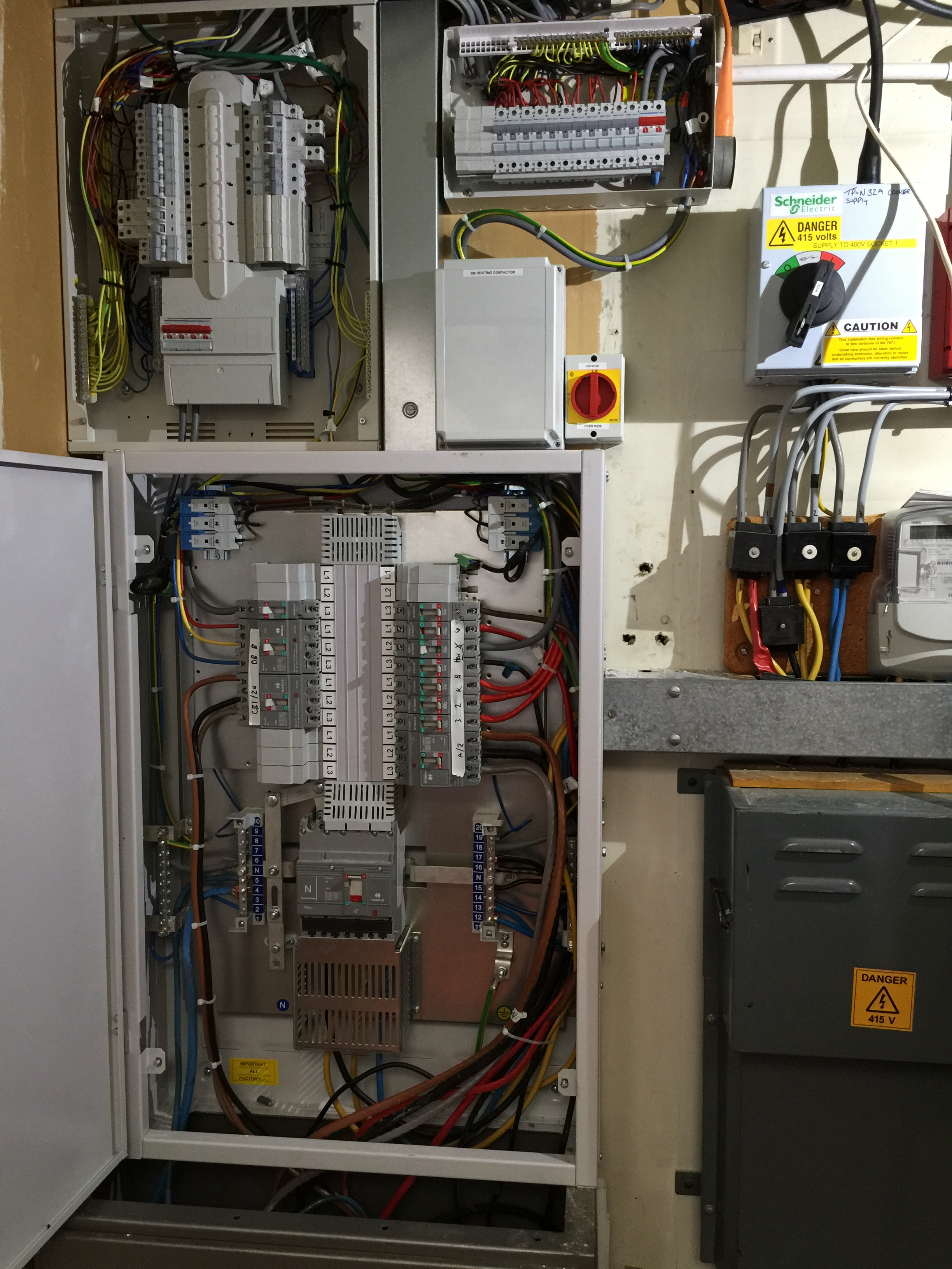 Electrical Installation: Replacement Main Panel and Distribution ...